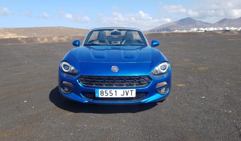 New Fiat 124 Spider full