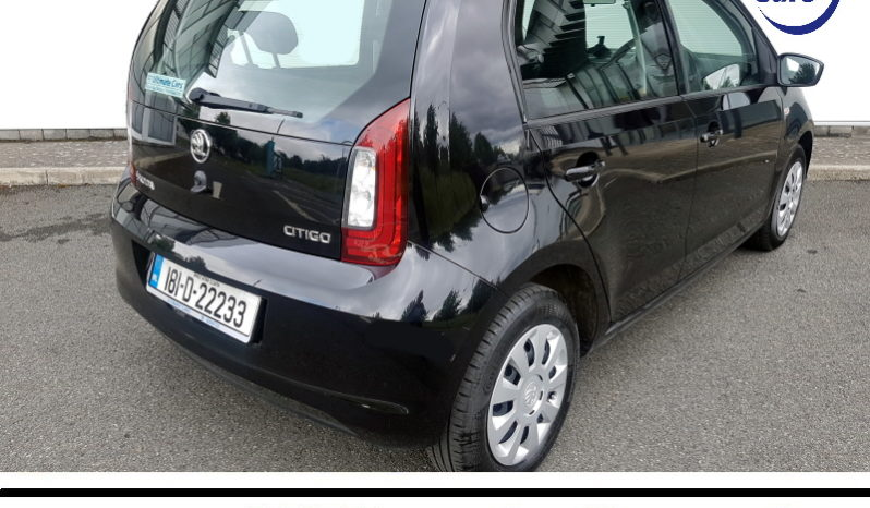 2018 Skoda Citygo in Black full