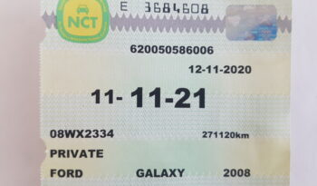 2008 Ford Galaxy Nct 11/2021 full